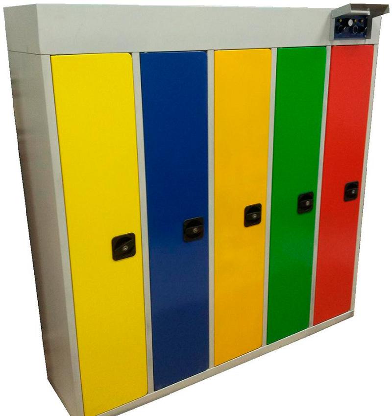 Детский сушильный шкаф для 5 комплектов одежды ршс-5д-135 - .